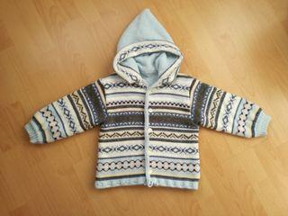 Abrigo chaqueta lana talla 1-2 años. PRENATAL
