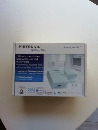 Adaptador PLC Metronic NetPlugs 200+