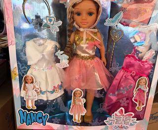 Nancy 3 vestidos de cuento envío gratis