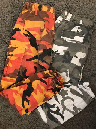 Pantalones militares cargo