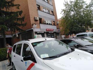 Licencia de taxi Madrid por jubilación libra jueve