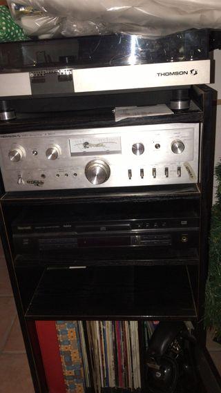 Amplificador y dvd