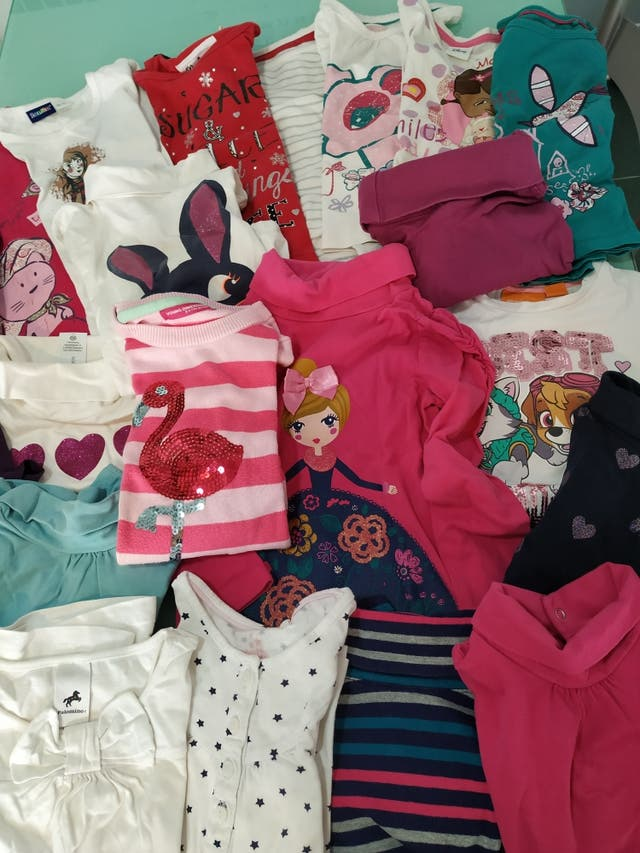 Pack camisetas y jerseis 3-4 años