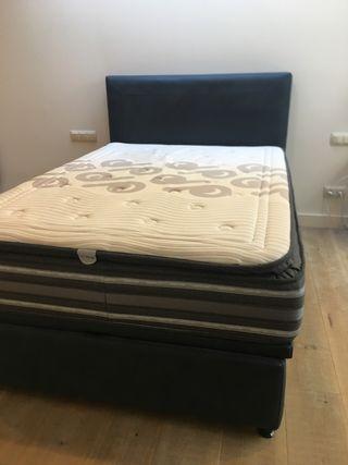 Cama doble + colchón