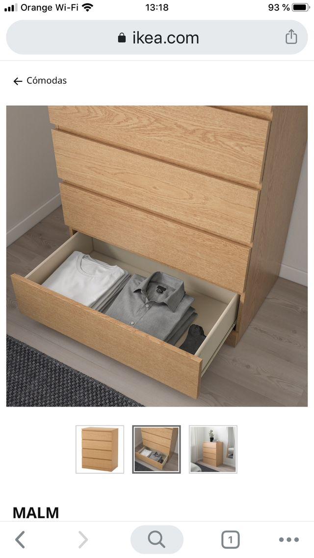 Cómoda / Cajonera Ikea