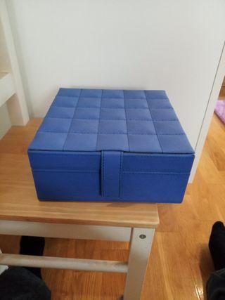 Joyero azul