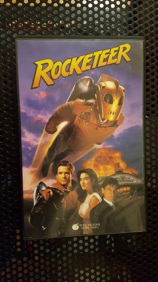 Pelicula VHS - Rocketeer - Caja grande - J. JOHN