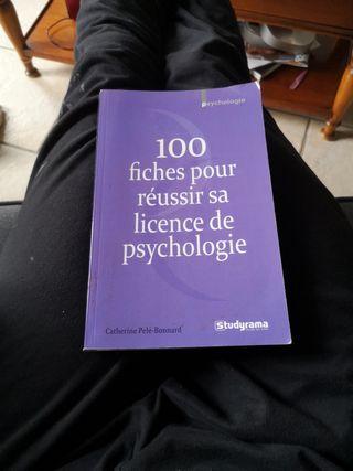 Livre revision psychologie (niveau licence)