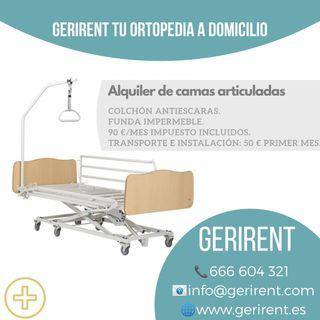 Alquiler Cama Hospitalaria