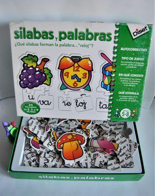 Silabas, palabras...puzzles diset