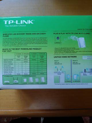 PLC repetidor Wifi TP-Link por red eléctrica