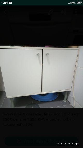 mueble bajo lavabo baño
