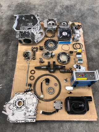 Lote piezas motor diesel generador nuevas