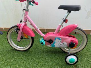 Bicicleta infantil Unicornio