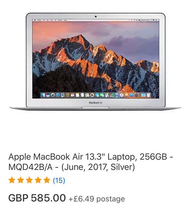 Appel MacBook Air 13.3 laptop