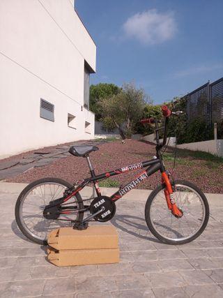 Bicicleta Bmx 20 pulgadas niño niña