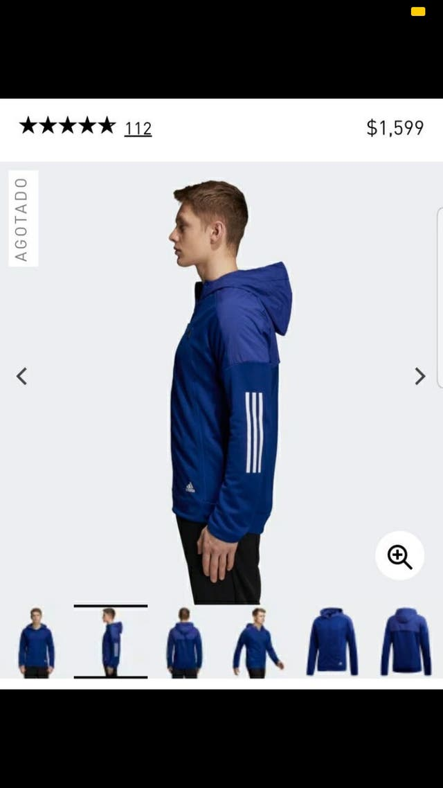 Sudadera chaqueta adidas hybrid nueva