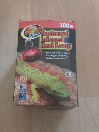 lampara infraroja
