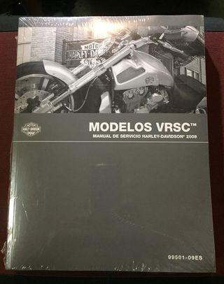 Manual de servicio Harley Davidson VRod