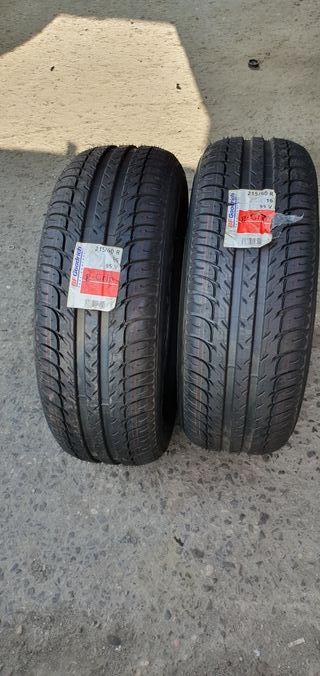 2 ruedas bfgoodrich 215/60/16/ nuevas a estrenar