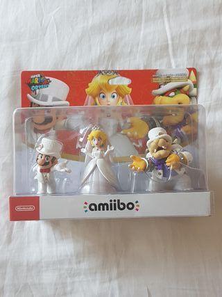 Pack Amiibo Mario Odyssey