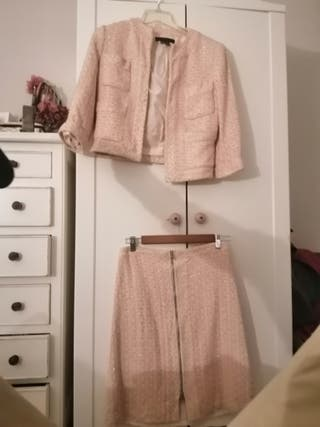 Traje chaqueta tipo Chanel