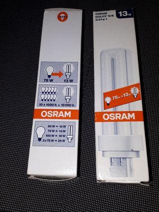 Bombillas OSRAM bajo consumo