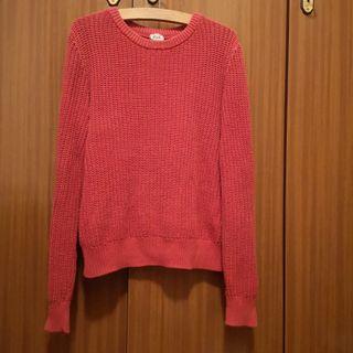 Jersey rojo + bufanda regalo