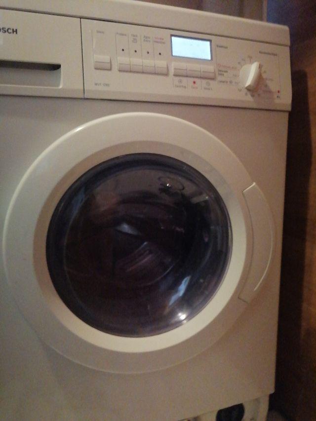 lavadora secadora Bosch pantalla