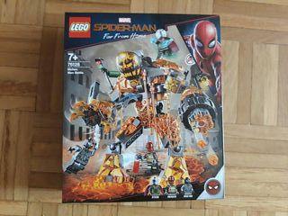 Lego 76128 nuevo sin figuras marvel spiderman