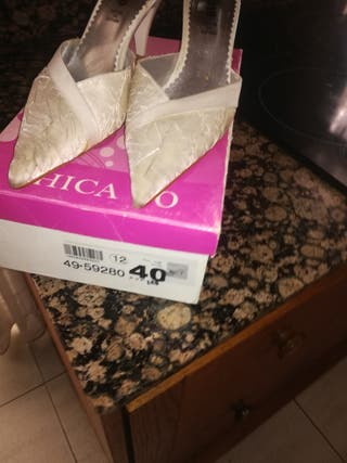 zapatos novia o eventos talla40