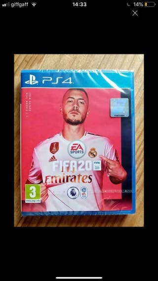 Brand new sealed Fifa 20 PS4