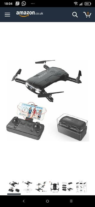 Toyerbee Drone with Camera Live Video, RC Quadcopt
