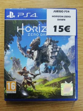 Videojuego original PS4 Horizon Zero Dawn