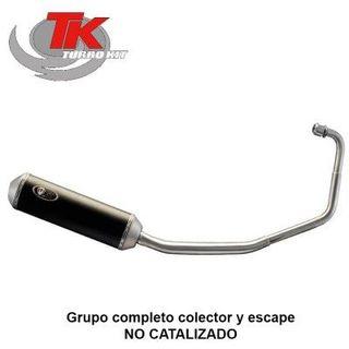 escape Keeway RKS-125 completo Turbokit
