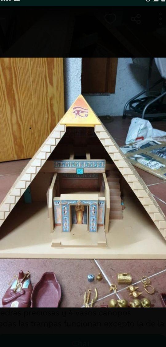 Playmobil - Pirámide Egipcia Faraones (4240)