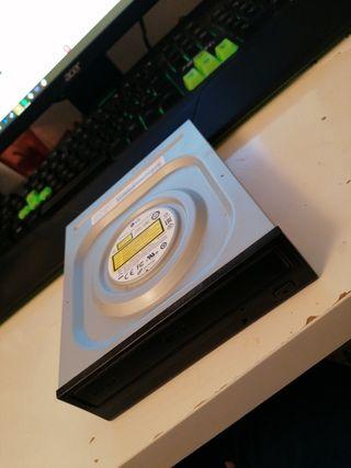 LG GH24NSD1 Grabadora DVD 24x Negra
