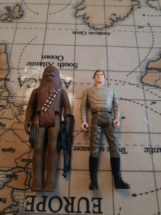 Vintage Last 17 Han And chewie
