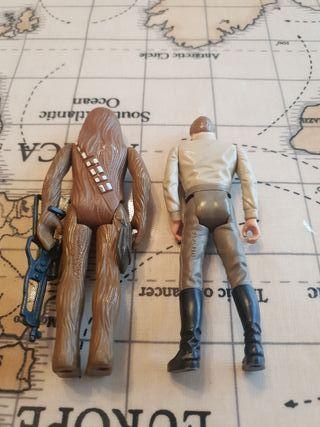 Vintage Last 17 Han And chewie