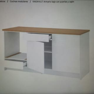 armario bajo con 2 cajones ,180cm