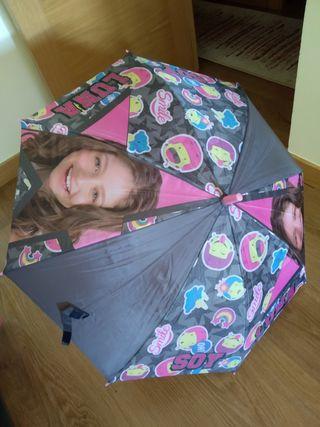 Paraguas de Soy Luna.