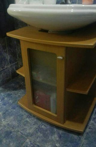 mueble bajo para lavabo