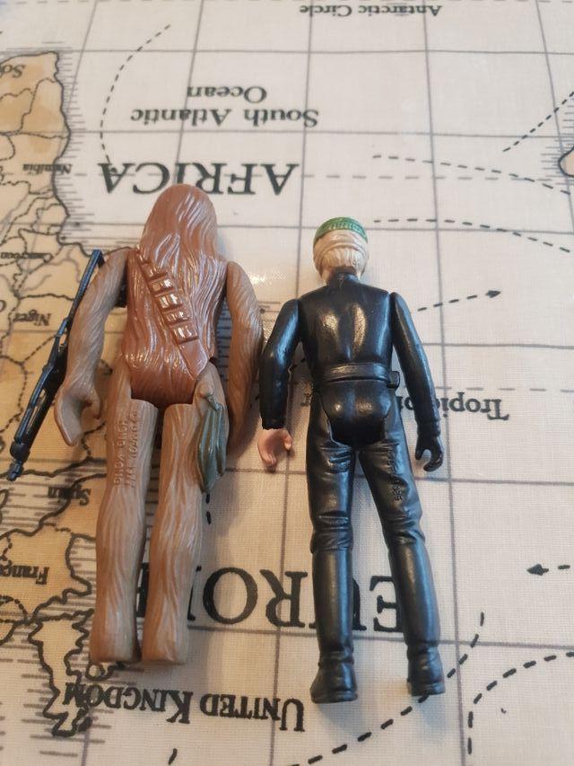 Vintage Last 17 Poncho Luke And chewie