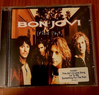"cd musica Bon Jovi "" these days"""