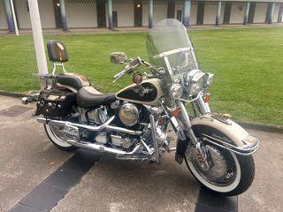 Harley Davidson Heritage Softail Nostalgia