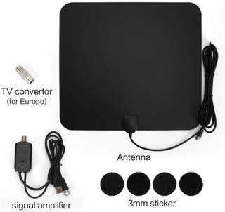 Antena Interior HDTV Portatil Amplificador NUEVO