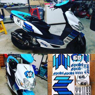 Kit pegatinas Yamaha Jog Polini