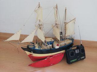 Barco rc eléctrico