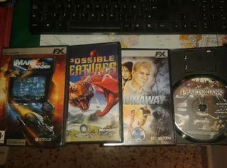 Coleccionistas lote juegos PC-CD-ROM