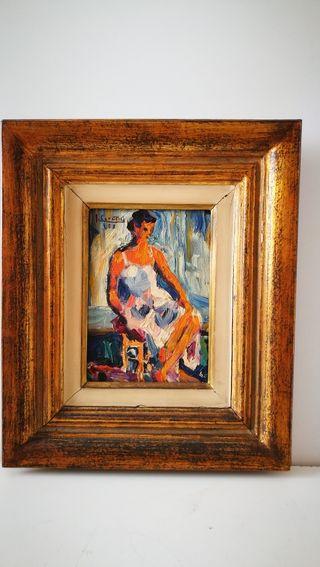 Cuadro pintado al óleo de Juan Cardella Crusells 1